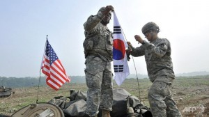 S. Korea, U.S. hold joint air defence exercise