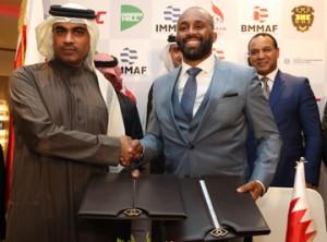 BMMAF President receives IMMAF President