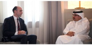Crown Prince meets UK parliamentary delegation