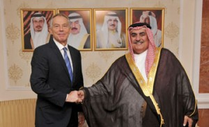 Foreign Minister receives former UK Premier