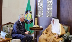 GCC Chief meets Danish Ambassador