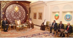 HM King praises Bahraini-US cooperation