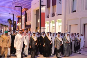 HRH Crown Prince inaugurates The Avenues mall