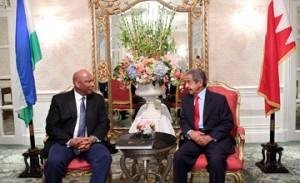 HRH Premier receives King Letsie III of Lesotho