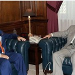 Javed Malik meets Bahrain's Minister of Cabinet Affairs