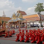 Lavish funeral held for beloved Thai king