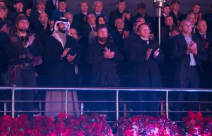 Nasser bin Hamad attends Chechen celebrations