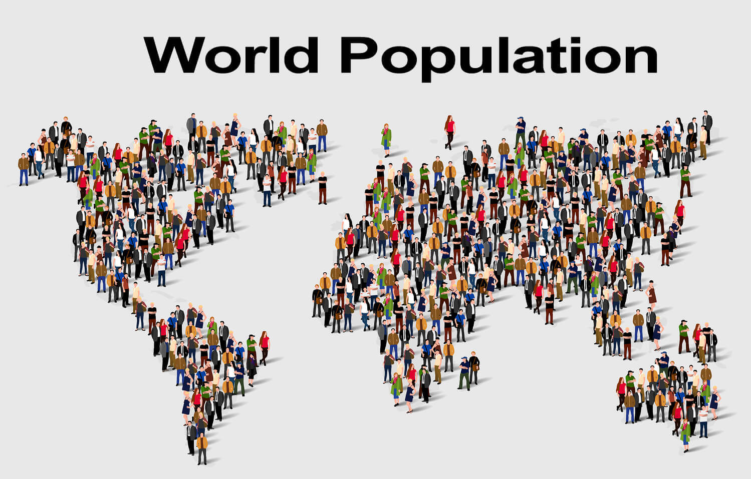 the growing concerns over the overpopulation in the world World population growth rate must  this is of particular concern for the least developed countries worldwide, which are growing at the fastest.