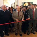 Ambassador opens Bahraini's art show in Moscow