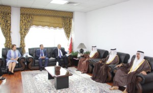 Bahrain, Egypt prosecution chiefs discuss cooperation