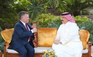Bahraini, Jordanian monarchs hold talks
