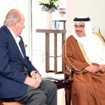 Deputy King receives Spanish former King