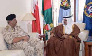 Deputy King visits General Command of BDF