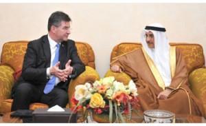 Deputy Premier receives senior UN official
