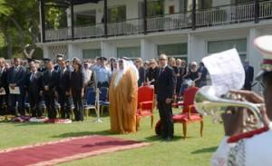 FM participates in Armistice Day Anniversary