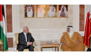 Foreign minister meets Palestinian official