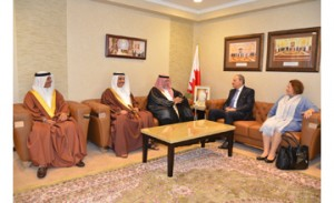 Justice Minister receives Egyptian Attorney General