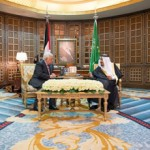 Saudi Monarch receives Palestinian President