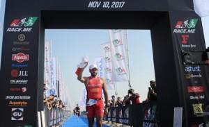 Shaikh Nasser shines in Dubai Int'l Triathlon Championship