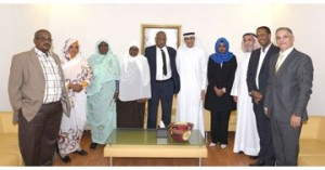 Sudanese parliamentary delegation visits SCW
