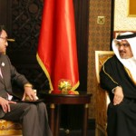 Crown Prince meets Minister for Foreign Affairs of Japan
