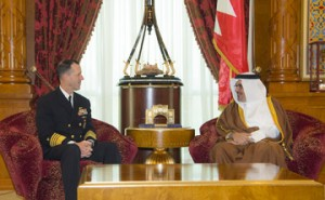 Crown Prince meets US Chief of Naval Operations