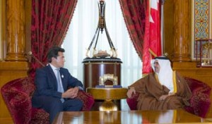HRH Crown Prince meets CEO of Roland Berger
