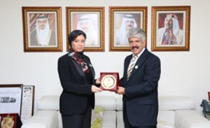 RCO Chief meets MP