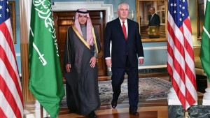 Saudi foreign minister meets U.S counterpart
