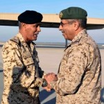 Chief of Staff receives Saudi counterpart