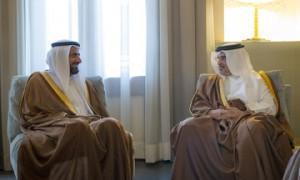 HRH Crown Prince receives Saudi Arabia's HM