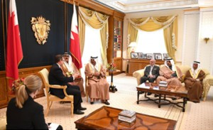 HRH Premier receives US ambassador
