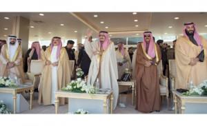 King attends King Abdulaziz Camel Festival