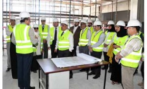 Minister inspects Dialysis Centre project