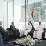 Mohamed bin Zayed receives World Bank President