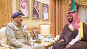 Saudi Crown Prince meets Pakistan's COAS