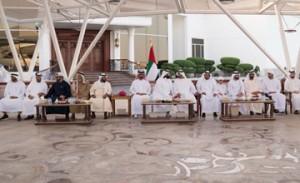 UAE leaders meet Sultan bin Suhaim